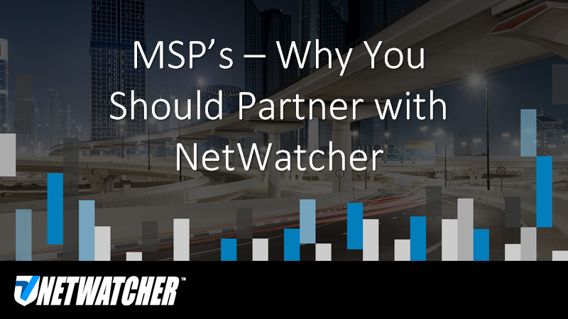 Why MSPs Use NetWatcher